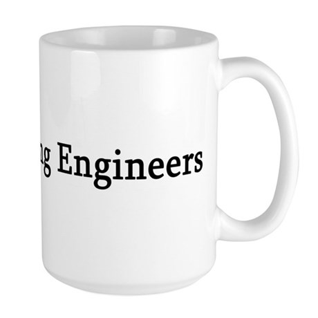I Love Recording Engineers Large Mug