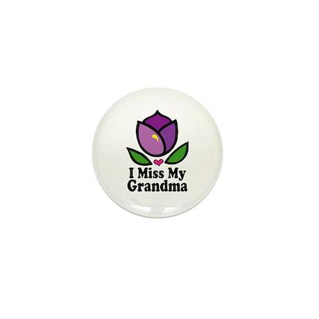 Alzheimer's Grandma Mini Button (10 pack)