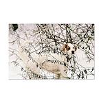 Snow Setter Poster Print