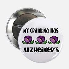 "Alzheimer's Grandma 2.25"" Button"