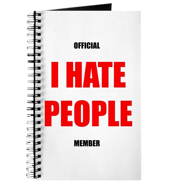 Official I Hate People Member Journal By I Hate People