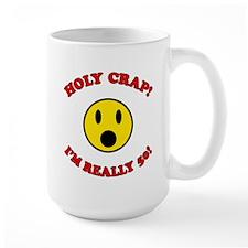 Holy Crap 50th Birthday Mug