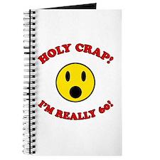 Holy Crap 60th Birthday Journal