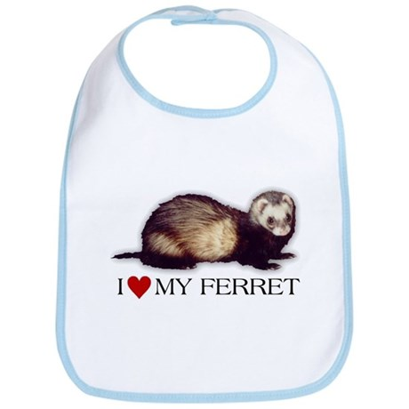 Bib - I love my ferret