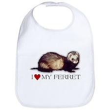 Bib - I love my ferret