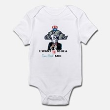 Uncle Sam Tarheel Fan Body Suit