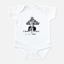 Uncle Sam Tarheel Fan Body Suit