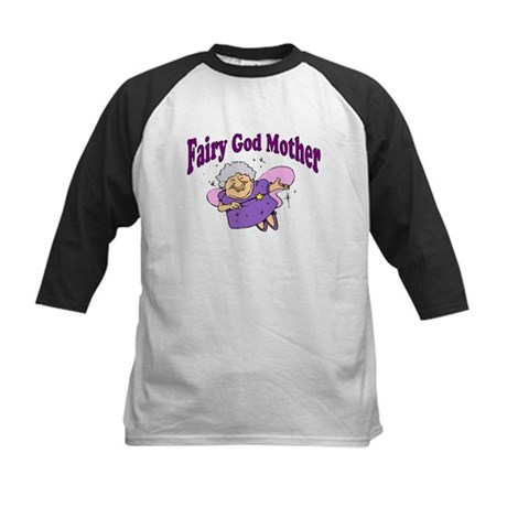 Fairy Godmother Kids Baseball Jersey