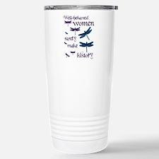 Well-behaved Women Stainless Steel Travel Mug