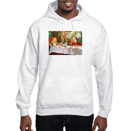 MAD HATTER'S TEA PARTY Hooded Sweatshirt