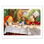 MAD HATTER'S TEA PARTY Small Poster