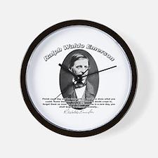 Ralph Waldo Emerson 02 Wall Clock