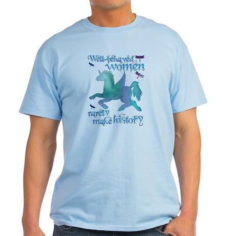 Well-behaved Unicorn Light T-Shirt