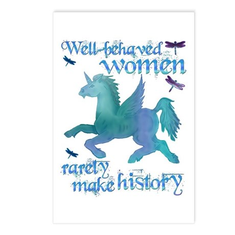 Well-behaved Unicorn Postcards (Package of 8)