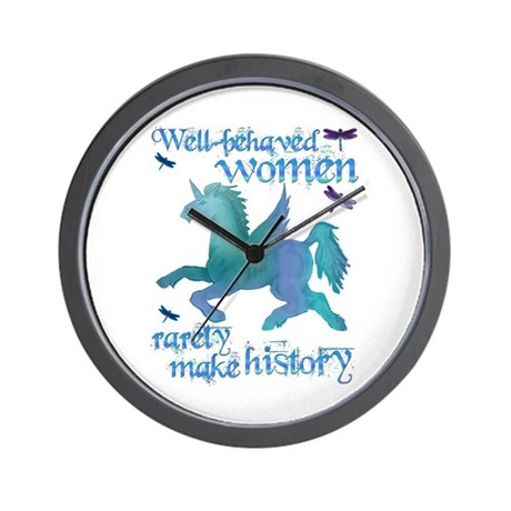 Well-behaved Unicorn Wall Clock