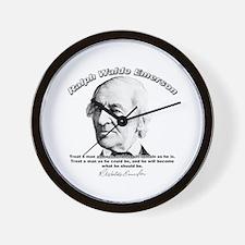 Ralph Waldo Emerson 01 Wall Clock