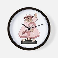 Breast Cancer Annie Wall Clock
