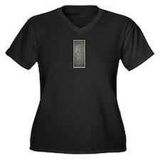 The Nativity Women's Plus Size V-Neck Dark T-Shirt