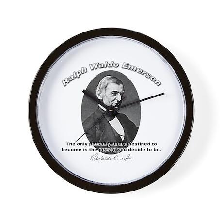 Ralph Waldo Emerson 04 Wall Clock