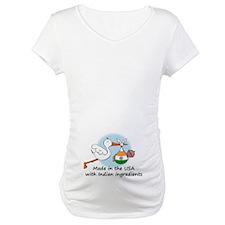 Stork Baby India USA Shirt