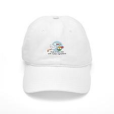 Stork Baby India USA Baseball Cap