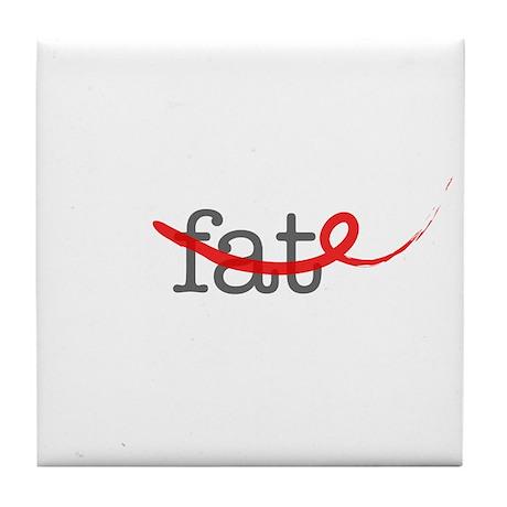 Delete Fat Tile Coaster