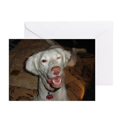 Winking Charlie Greeting Cards (Pk of 10)