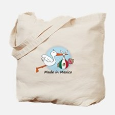 Stork Baby Mexico Tote Bag