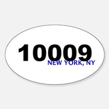10009 Oval Decal