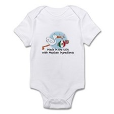 Stork Baby Mexico USA Infant Bodysuit