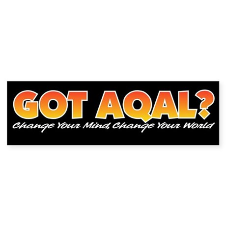AQAL Bumper Sticker