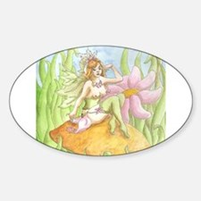 Sexy Fairy Oval Decal