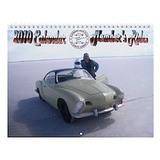 Karmann Ghia Wall Calendar