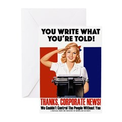 Corporate News Greeting Cards (Pk of 10)