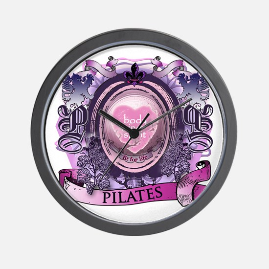 Fit for Life Pilates Victorian Velvet Wall Clock