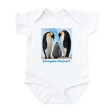 Cute Penguin power Infant Bodysuit