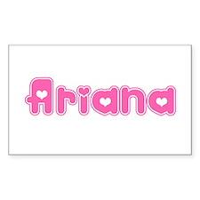 """Ariana"" Rectangle Decal"