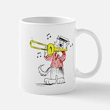 Trombone Cat Small Small Mug