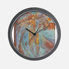 Angel - higher res Wall Clock