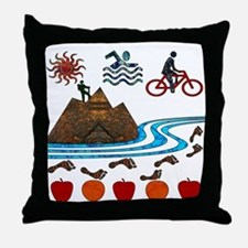 Recreation Throw Pillow