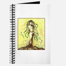 Funny Nude woman Journal