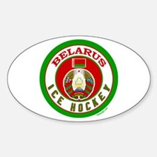 BY Belarus/Bielarus Ice Hockey Decal