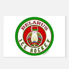 BY Belarus/Bielarus Ice Hockey Postcards (Package
