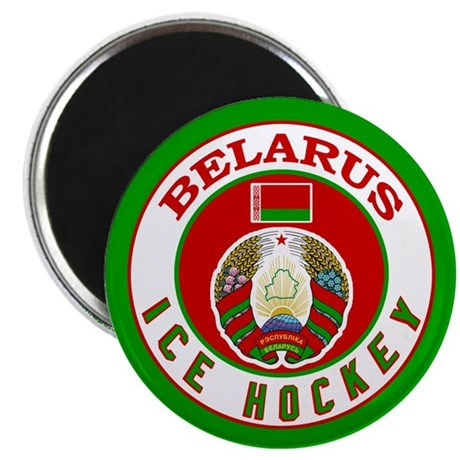 BY Belarus/Bielarus Ice Hockey Magnet