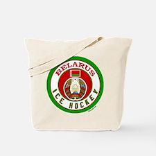 BY Belarus/Bielarus Ice Hockey Tote Bag