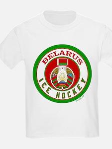 BY Belarus/Bielarus Ice Hockey T-Shirt