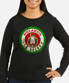 BY Belarus/Bielarus Ice Hockey T-Shirt