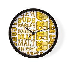 Beer Things Wall Clock