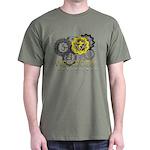Solar Plexus Chakra Men's Dark T-Shirt