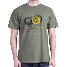 Solar Plexus Chakra Men's T-Shirt